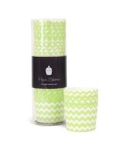 Bakform  apple green chevron - Paper Eskimo