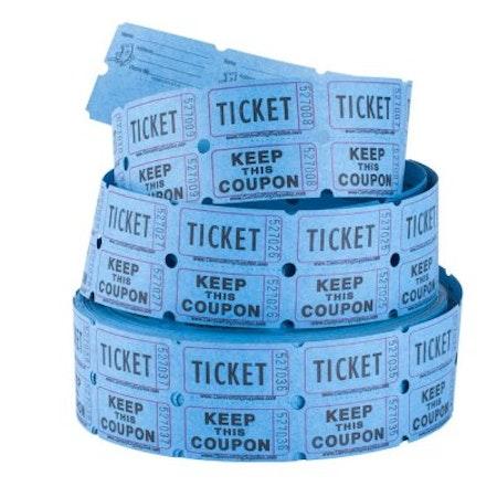 Biljetter - blå