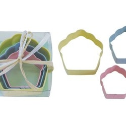 Pepparkaksformar - cupcakes 3 pack