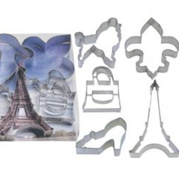 Pepparkaksformar - Paris, 7 delar