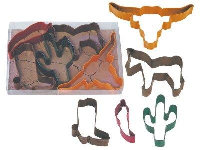Pepparkaksformar - Southwest 5 delar