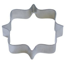 Pepparkaksform - Plaque, square