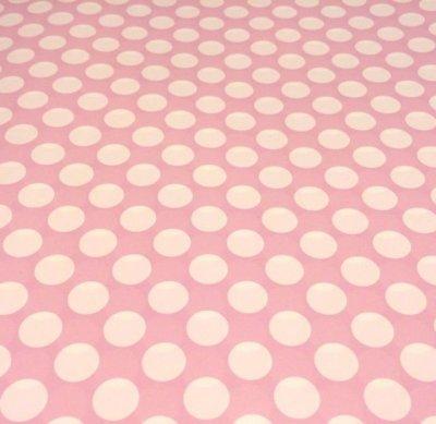 Presentpapper - rosa/vit
