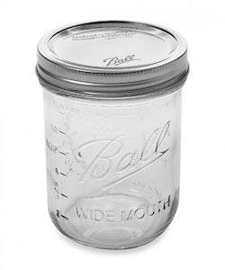 Ball  Mason Jar Wide mouth 16 oz