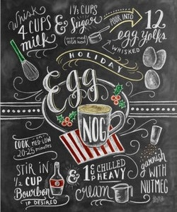Print - Egg Nog Recipe