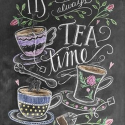 Print - It's allways tea time