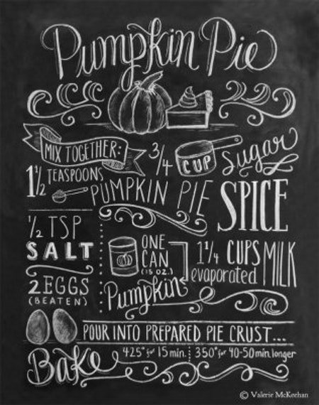 Print - Pumpkin Pie Recipe