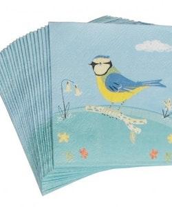 Blåmes - servetter