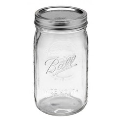 Ball Mason Jar - Quart jars wide 32 oz