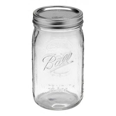 Ball Mason Jar - Quart jars wide 32 oz