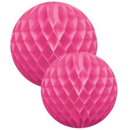 Honeycomb Ball Set - rosa