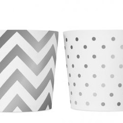 Food cups - Silver