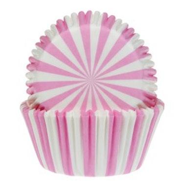 Muffinsform Cirkus - rosa rand