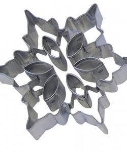 Pepparkaksform - snowflake cutouts B