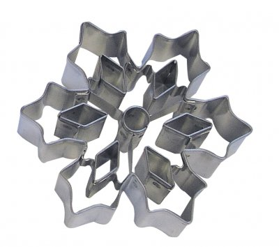 Pepparkaksform - snowflake cutouts C