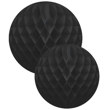 Honeycomb Ball Set - svart