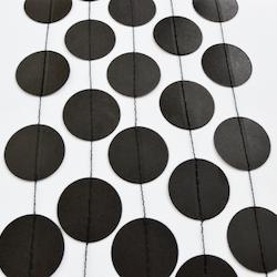 Circle Garland - 3 meter, svart