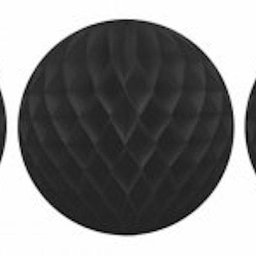Honeycomb - 3 st svart