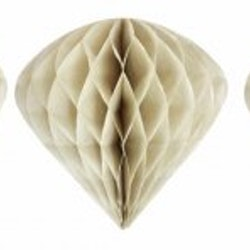 Cone shaped ornament - sand
