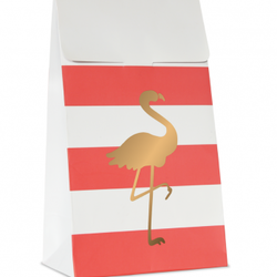 Presentpåse - Flamingo