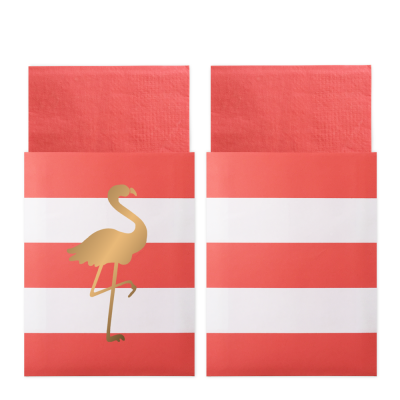 Servett Preppy Flamingo - Delight Department