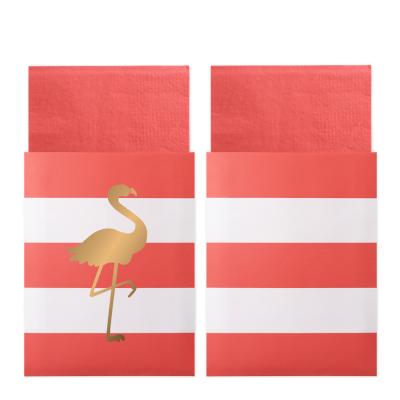 Preppy Flamingo - servetter