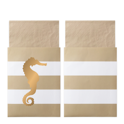 Servett Preppy Seahorse - Delight Department