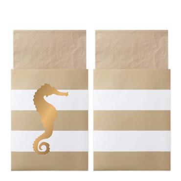 Preppy Seahorse - Servetter