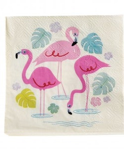 Flamingo - servetter
