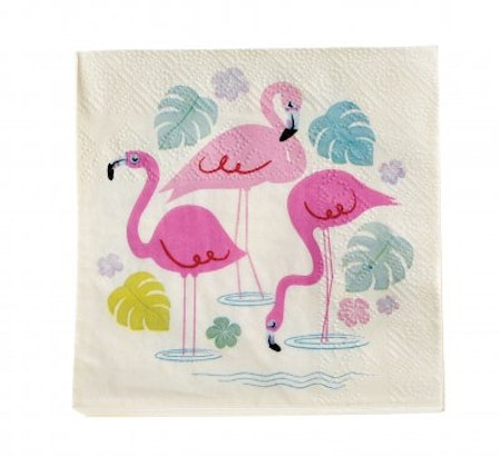 Flamingo - servetter