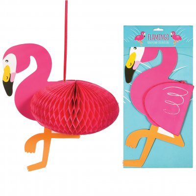 Honeycomb - flamingo