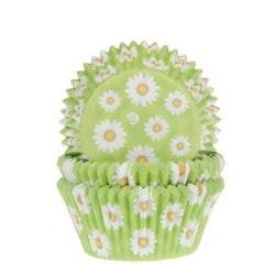 Muffinsform - Daisy grön