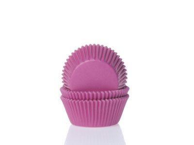 Mini muffinsform hot pink