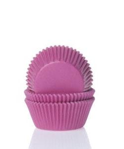 Mini muffinsform hot pink