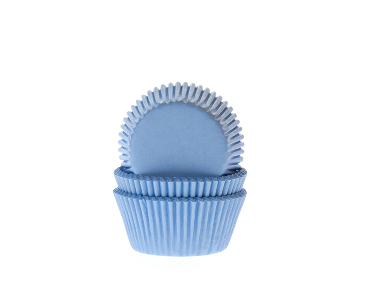 Minimuffinsformar, himmelsblå
