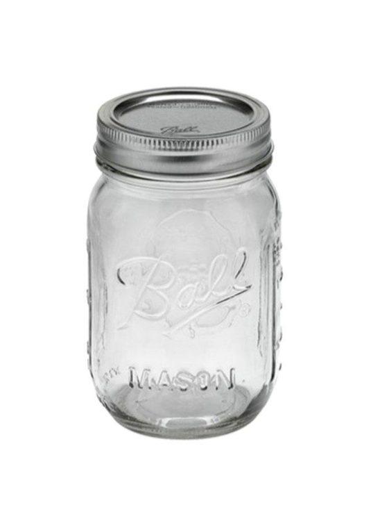 Ball Mason Jar - Pint jars 16 oz