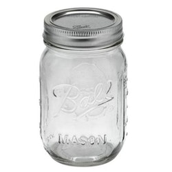 Ball Mason Jar - Pint jars 16 oz