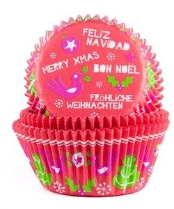 Muffinsform - Feliz Navidad