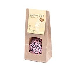Muffinsform - Pink Leopard