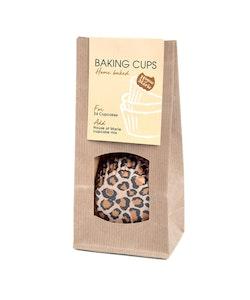 Muffinsform - Brown Leopard