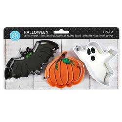 Halloween Cookie Cutter set 3 delar