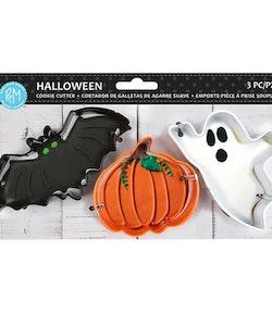 Halloween Cookie Cutter set 3 delar