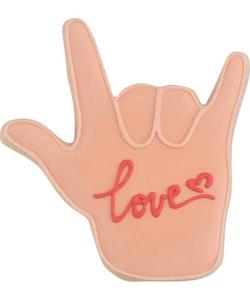 Kakmått - Hand, love sign