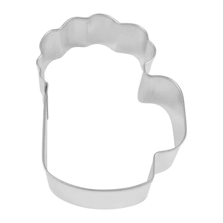 Pepparkaksform - skummande ölglas