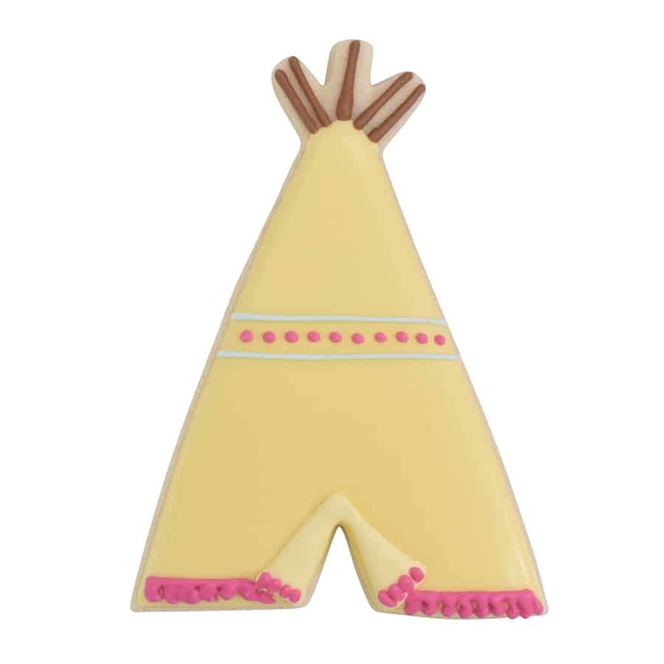 Pepparkaksform - Teepee tält, indiantält