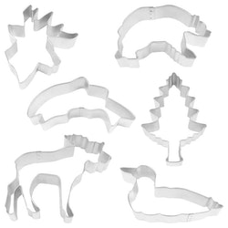 Pepparkaksformar - North Wood 6 delar