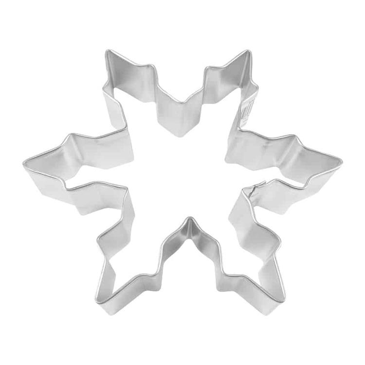 Pepparkaksform - Snöflinga 12,5 x 12,5 cm