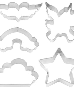 Pepparkaksformar - Unicorn Party 5 st