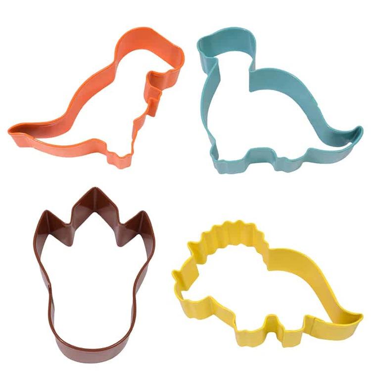 Pepparkaksformar - Dinosaurier 4 st