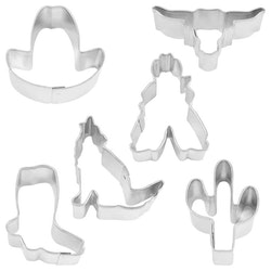 Kakmått -Texmex miniatyr, 6 st